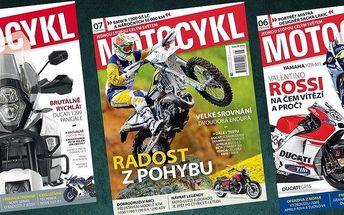 Roční předplatné časopisu MOTOCYKL + bonus