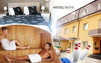 3 až 6 dní v Hotelu Tatra, Nový Bydžov pro 2 osoby. Polopenze, masáž, solná jeskyně, privátní sauna, bowling!