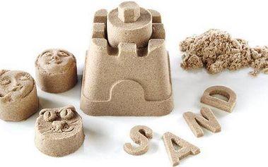 Magický tekutý (kinetický) písek - rozbaleno