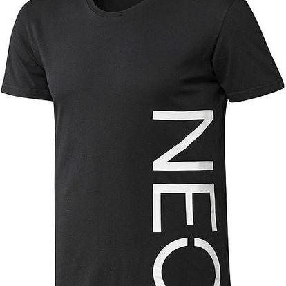 ADIDAS Neo Logo black-white vel. M tričko