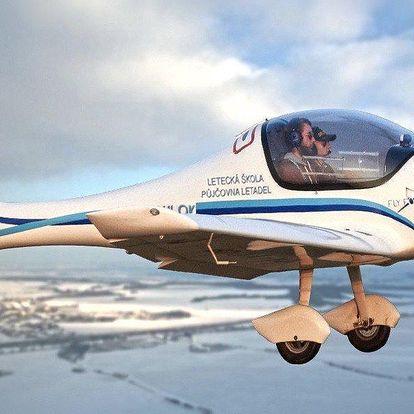 20 minut letu v letadle Zephyr 2000