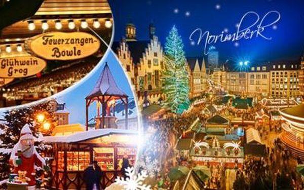 Adventní Norimberk! Zájezd 9.12. a 19.12.2015! Odjezd autobusem z Prahy a Plzně! Nejproslulejší trhy v Německu!