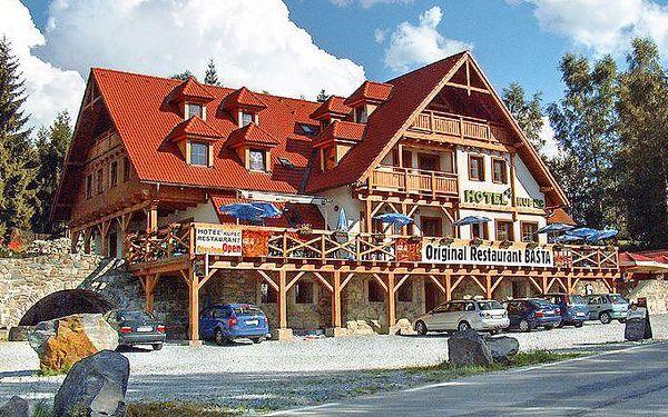 4denní pobyt pro 1 osobu s polopenzí a slevami u Lipna v hotelu Kupec***
