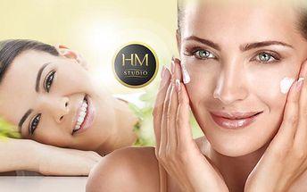 60min. kosmetické ošetření pleti bio kosmetikou a aroma oleji v příjemné prostředí studia HM! Přírodní produkty!