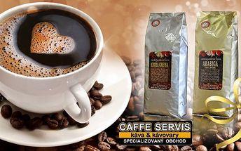 Čerstvě pražená mletá káva z Jižní Ameriky, Indonésie či Afriky: 2x 200 g v krásné dárkové krabičce.