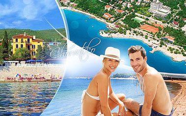Chorvatsko, Crikvenica - first minute na léto 2016! 5 či 8 dní pro 1 os. přímo u pláže s polopenzí a výletem lodí!