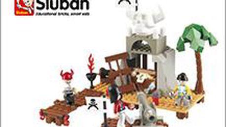 Stavebnice Sluban, báječná hračka pro ty nejmenší, 4 různé druhy. A děti budou u stromečku šťastné...