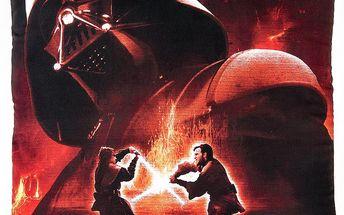 Jerry Fabrics Polštářek Star Wars 02 Darth Vader - 40x40 cm