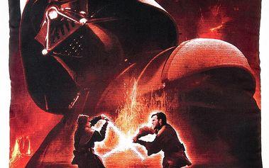 Jerry Fabrics Star Wars 02 Darth Vader polštářek, 40x40 cm