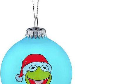 MUPPETS Skleněná ozdoba Kermit