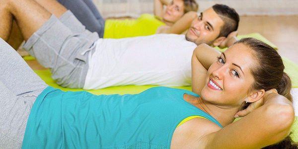 Vstupy na skupinové lekce fitness