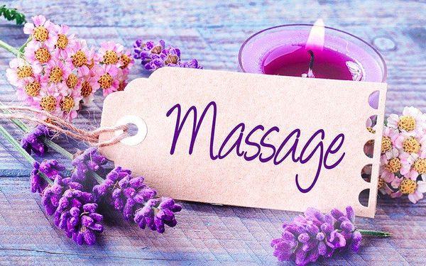 Levandulová relaxační masáž pro jednoho či pár