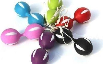Úžasné Venušiny kuličky Smart Balls v nádherném a luxusním zpracování, vyvedené v krásné růžové barvě