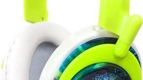 Sluchátka Koss RUK50 s hlavovým mostem, zelená