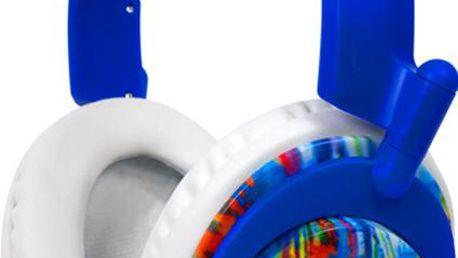 Sluchátka Koss RUK50, modré, s hlavovým mostem