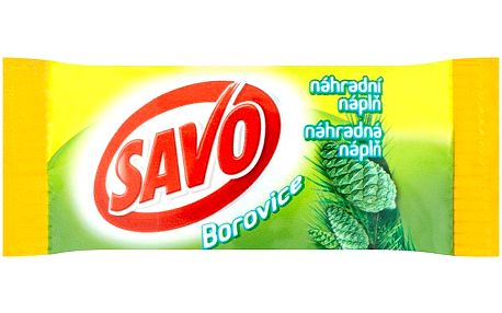Savo Tuhý WC blok borovice - náhradní náplň 35 g