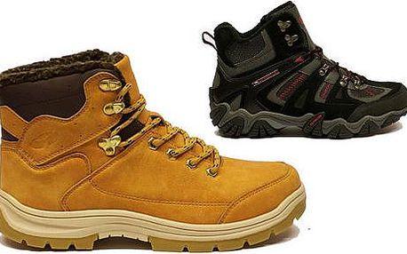 Pánská zimní sportovní obuv dle výběru