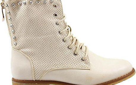 Dírkované podzimní boty 67536BE 40