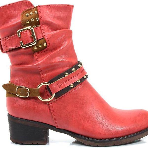 Podzimní kotníkové boty 8856-3R 38