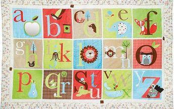 SKIPHOP ABC Zoo velká bílá/červená/modrá/zelená/hnědá