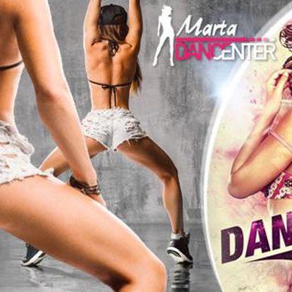 Permanentka na Dance fitness, Twerk, MTV dance a další. Objevte svou vnitřní dračici a vyrýsujte tělo!