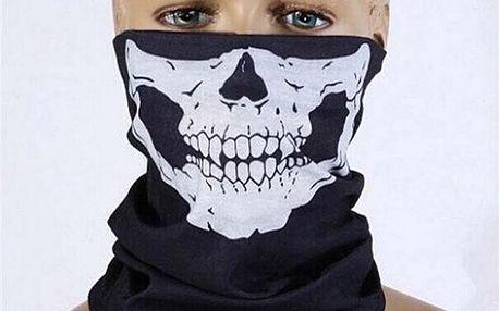 Originální šátek s motivem lebky - dodání do 2 dnů