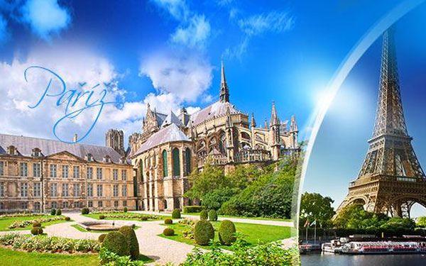 Paříž, Versailles a Remeš! 5denní zájezd pro 1 osobu s 2x ubytováním a dopravou z Prahy i Brna, do listopadu!