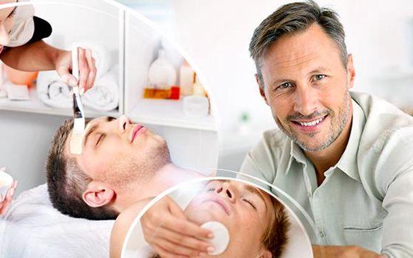 60min. kosmetické ošetření pleti s masáží pro muže s novou řadou Alcina for men! I muži mají své dny!