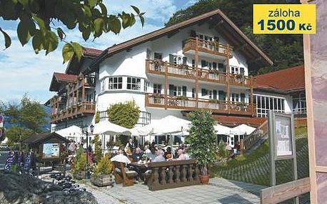 Německo, oblast Bavorské Alpy, doprava vlastní, snídaně, ubytování v 4* hotelu na 8 dní