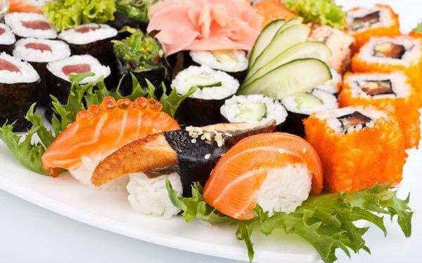 Lahodné sushi meni s až 56 kousky