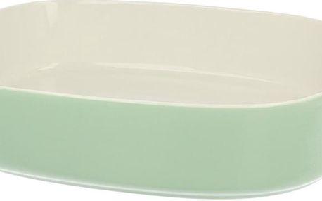 Porcelánová zapékací mísa Pot Green, 35.5 cm