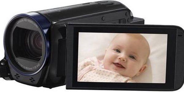 Canon LEGRIA HF R606 BK + orig. pouzdro a 4GB SD pam.karta (0280C010AA) černá + Doprava zdarma
