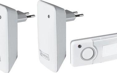 Domovní bezdrátový zvonek Emos P5710G-2R
