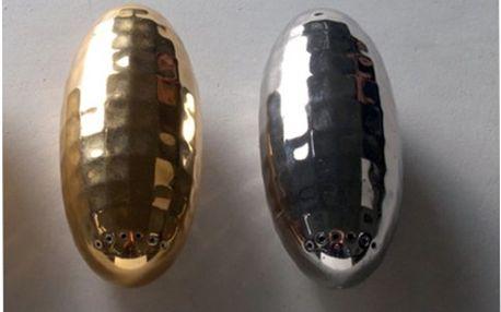 Designová porcelánová solnička/pepřenka Zepelin