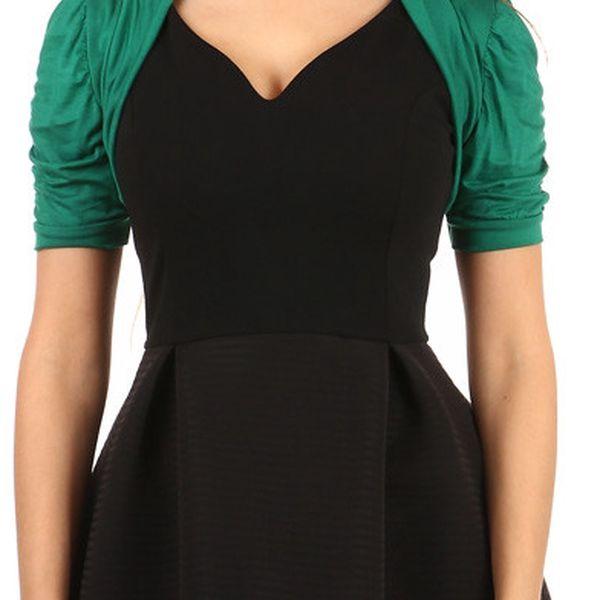 Elegantní bolerko zelená