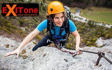 Via Ferrata - kurz horolezectví na Vodní bráně pro 1 osobu včetně fotodokumentace