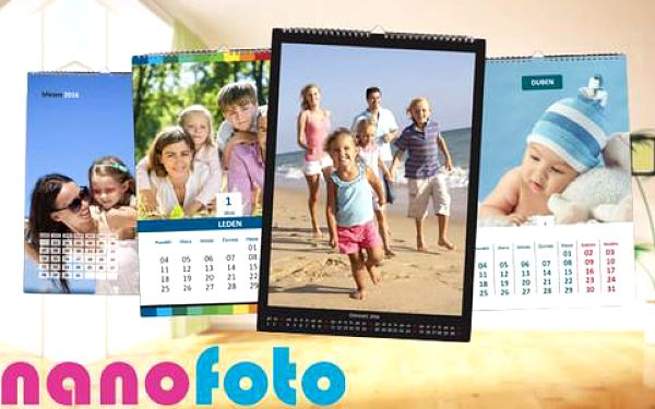 Nástěnný fotokalendář 2016 dle výběru