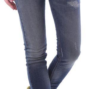 Dámské jeans Sexy Woman - Tmavě modrá / XS