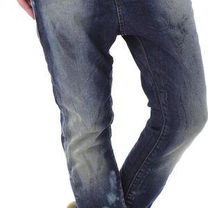 Dámské jeans Sexy Woman - Modrá / XS