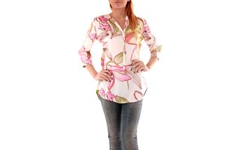 Dámská košile Sexy Woman vzor 4 - Růžová / I