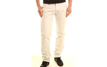 Pánské jeans Absolut Joy vzor 17 - 29 / Bílá