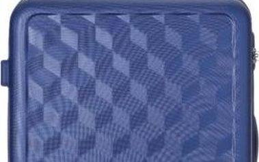 REAbags Cestovní kufr AEROLITE T-335/3-60 ABS, modrá