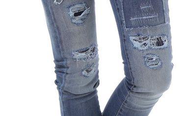 Dámské jeans Sexy Woman - Modrá / XXS