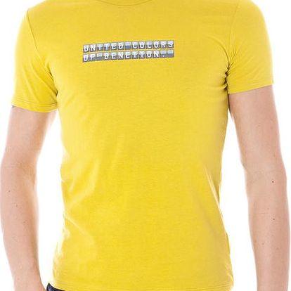 Pánské tričko Benetton - Zelená / L