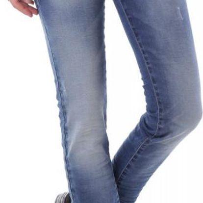 Dámské jeans Sexy Woman vzor 10 - Azurová / XS