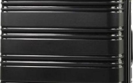 REAbags Cestovní kufr ROCK TR-0125/3-70 PP černá