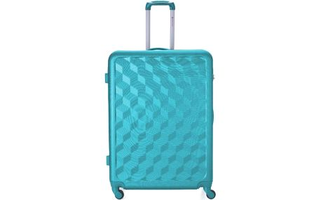 REAbags Cestovní kufr AEROLITE T-335/3-70 ABS, aqua