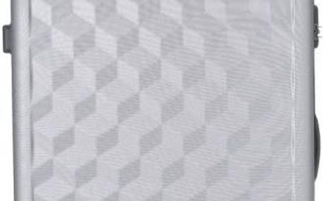 REAbags Cestovní kufr AEROLITE T-335/3-70 ABS, stříbrná