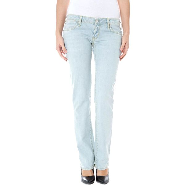 Dámské jeans Zuelements - Azurová / 26
