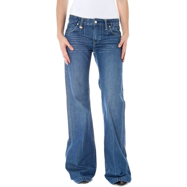 Dámské jeans Zuelements - Modrá / 27